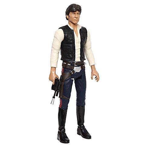 Giochi Preziosi - Star Wars Personaggio Han Solo, con Braccia e Gambe Articolate, Alto 50 cm