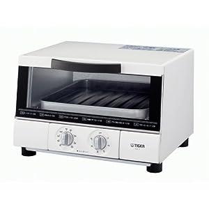 TIGER オーブントースター やきたて ワイドタイプ ホワイト KAE-G130-W