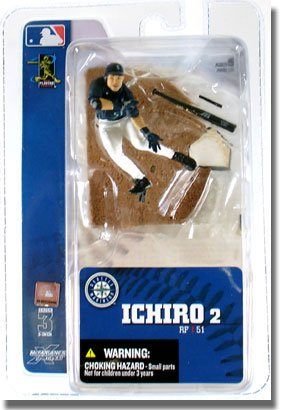 Picture of McFarlane MLB Sports Picks 3-Inch Series 3 Ichiro Action Figure (B000RUJ3BU) (McFarlane Action Figures)
