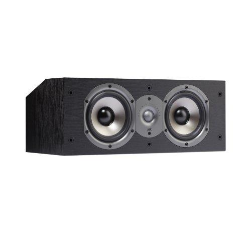 Polk Audio Monitor 15C Two-Way Center Channel Speaker (Single, Black)