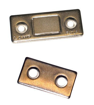 Door Catch - Magnetic - Ultra Thin Profile - Strong (Magnetic Cabinet Closure compare prices)
