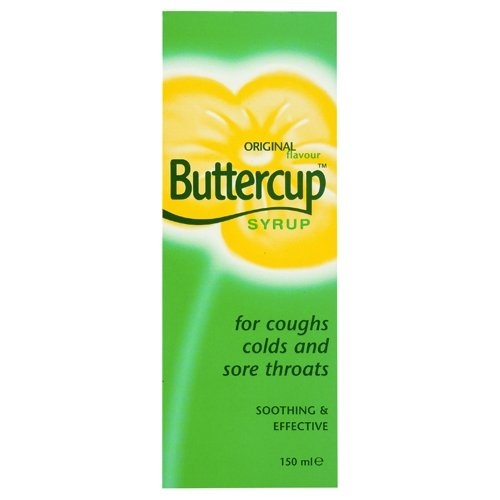 Buttercup Cough Mixture Syrup Original 150ml