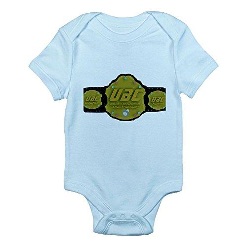 Cafepress Ultimate Baby Championship Belt B Infant Bodysuit - 6-12M Sky Blue