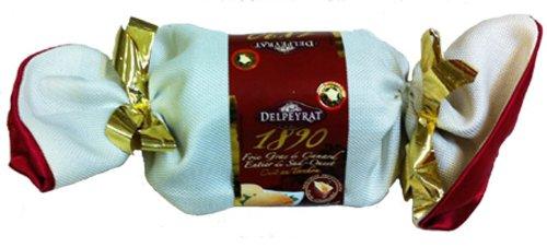 French Whole Duck Foie Gras Au Torchon South West Delpeyrat-Foie Gras De Canard Entier Du Sud Ouest Au Torchon - 5,64 Oz - 4 Serves