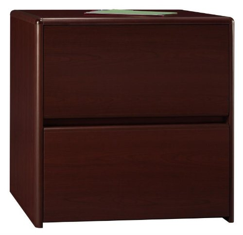 Bush Northfield 2-drawer Lateral File Cabinet, Harvest Cherry