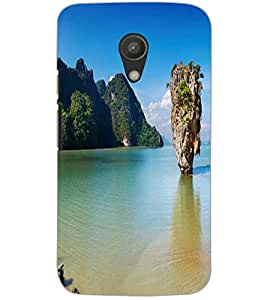 MOTOROLA MOTO G2MOUNTAIN Back Cover by PRINTSWAG