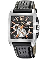 Festina - F16363/3 - Montre Homme - Quartz - Chronographe - Bracelet Cuir Noir
