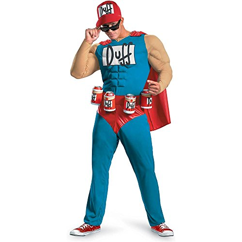 Duffman Classic Muscle Adult Costume