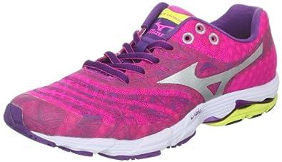 Mizuno Women's Wave Sayonara Running Shoe,Pink,6 B US