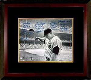 Whitey Ford Autographed Hand Signed New York Yankees B&W 16x20 Photo Custom... by Hall of Fame Memorabilia
