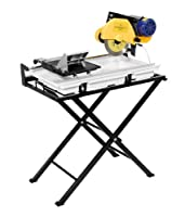 QEP 60020 24-Inch Dual Speed Tile Saw with Water Pump and Folding Stand by QEP