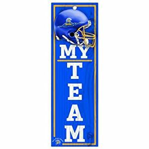 Buy NCAA San Jose State Spartans 4-by-13 Wood My Team Sign by WinCraft