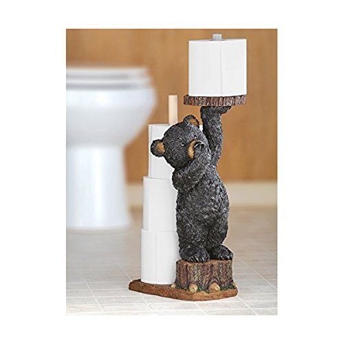 Cheap Northwoods Bear Toilet Paper Holder