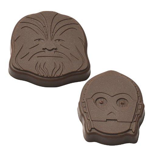Star Wars Heroes Chocolate Molds