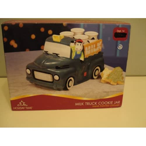 Amazon.com - Holiday Time Milk Truck Cookie Jar -