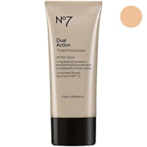 BOOTS No7 Dual Action Tinted Moisturiser Fair