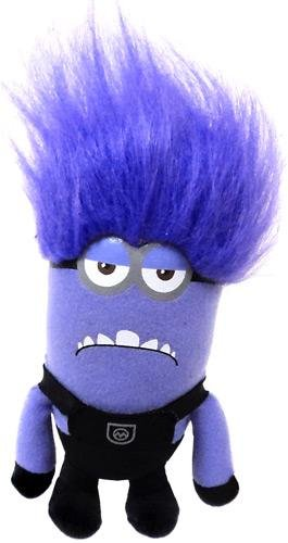 "Despicable Me 2 - Evil TWO EYED Purple Minion 10"" Plush - 1"