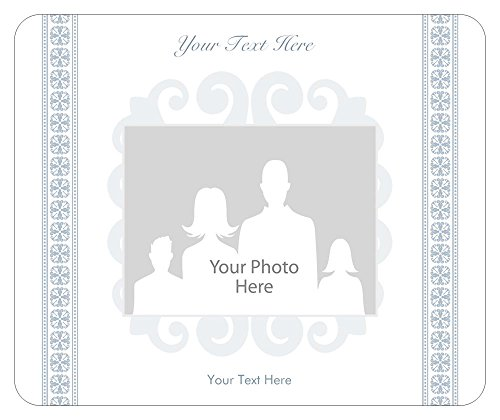 Vistaprint White Birth Announcement Mouse Pads front-671381