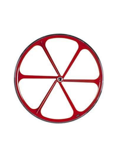 SCHIANO Ruota Bicicletta Fixed 4229 Rosso
