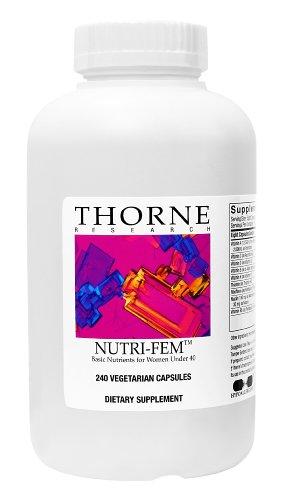 Thorne Research Nutri-Fem (Basic Nutrients For Women Under 40), 240 Vegetarian Capsules (Ffp)