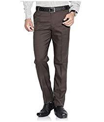 Frankline Men's Trouser (Frankline-31_Brown_34)