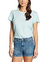 PDH Camiseta Manga Corta (Azul Claro)