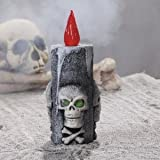 Skull LED Candle - Party Decorations & Lamps, Candles & Votives