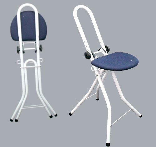 Good Ideas Adjustable Ironing Perching Stool (927) Ideal for ironing, cooking or resting between jobs.