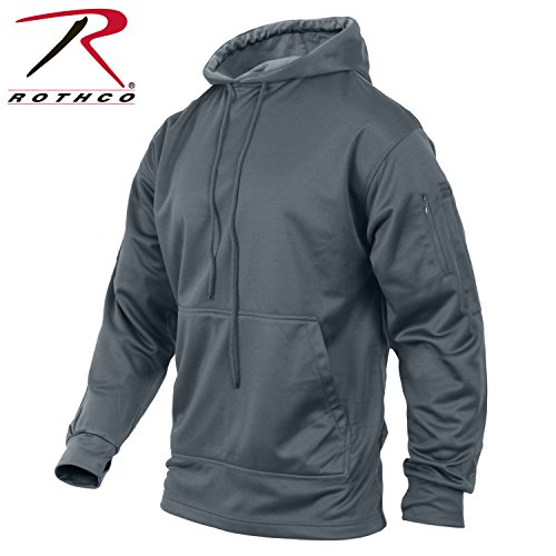 Rothco Concealed Carry Hoodie, Gun Metal Grey, 2XL (Sfa Gear compare prices)
