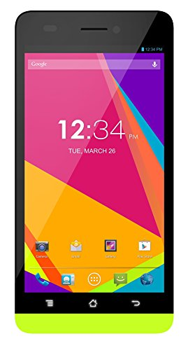 BLU Studio 5.0 LTE, 8MP, ( 4GB+1GB RAM)- Factory Unlocked (Yellow) – Unlocked Cell Phones – Retail Packaging – Yellow