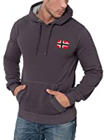 Geographical Norway Sudadera con Capucha Fondant (Antracita)