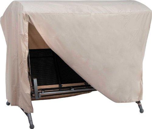 Stern 454937 Schutzhülle für 3-Sitzer Schaukel, circa 210 x 140 x 145 cm, natur