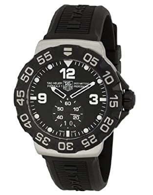 TAG Heuer Men's WAH1010BT0717 Formula One Grande Date Black Dial Watch by TAG Heuer