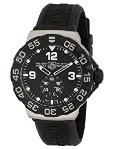 TAG Heuer Men's WAH1010BT0717 Formula One Grande Date Black Dial Watch