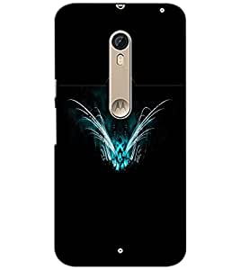 PrintDhaba Ghost D-2000 Back Case Cover for MOTOROLA MOTO X STYLE (Multi-Coloured)