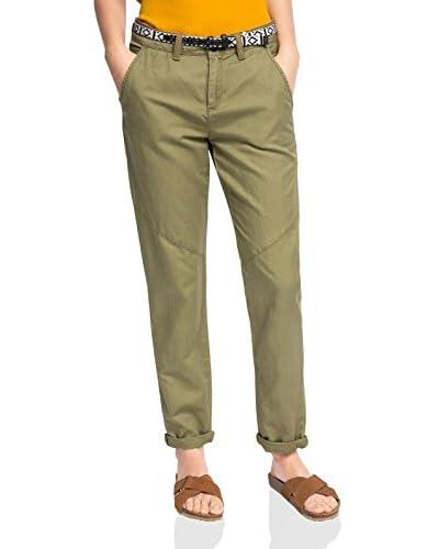 edc by ESPRIT Pantalone [Verde]