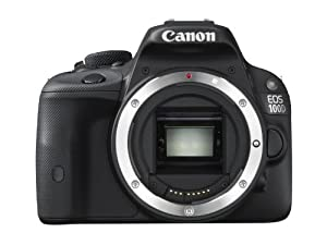 Canon EOS 100D Digital SLR Camera - (18MP, CMOS Sensor) 3 inch LCD