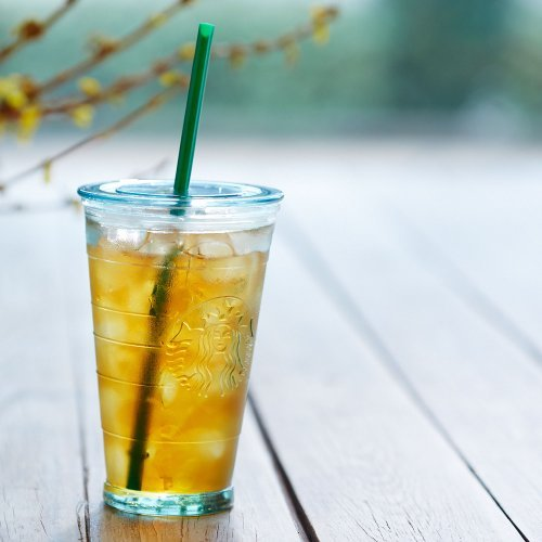 Starbucks Recycled Glass Cold Cup, 16 Fl. Oz. (Starbucks Cups With Straw compare prices)