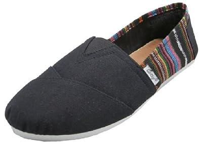 Shoes 18 Womens Canvas Slip on Shoes Flats 2 Tone 10 Colors