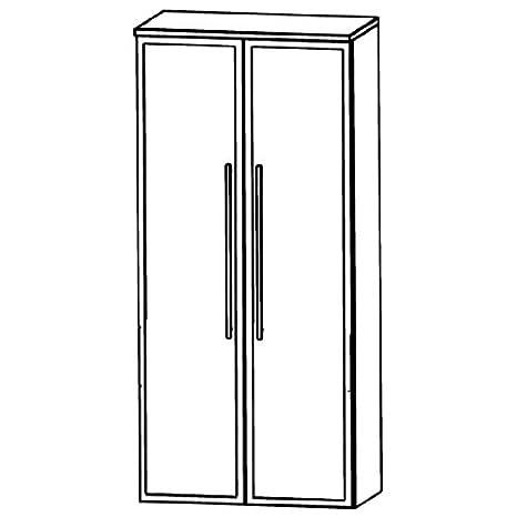 Puris Swing (MNA816B7 Bathroom Cabinet 60 CM