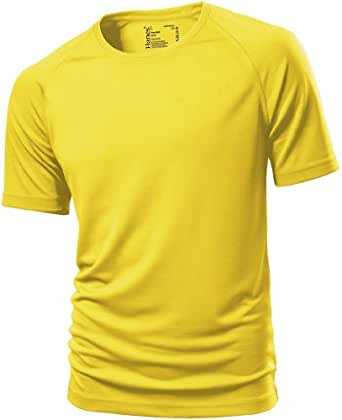 atmungsaktives Fitness-Shirt XXL,Sunflower Yellow