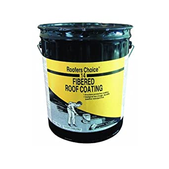Roofers Choice Rc014070 Fibered Roof Coating 5 Gallon
