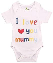 BIO KID Clothing Set for Kids (BTU-484-62_0-3 Months, 0-3 Months, White)