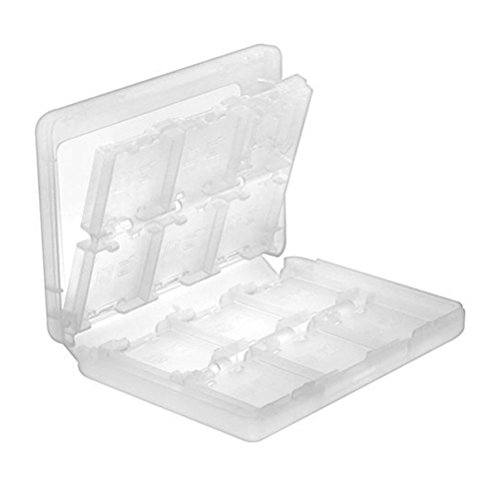 Haobase 28 in 1 Game Card Travel Protective Storage Carry Case Holder Organizer for Nintendo 3DS Cartridges