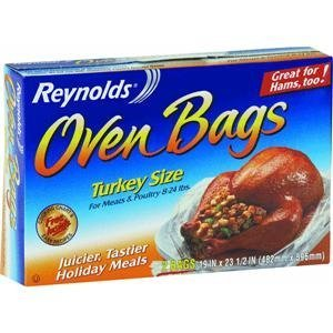 Reynolds Oven Cooking Bags, Turkey Size, 2 Count (Turkey Cooking Bags compare prices)