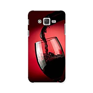 ArtzFolio Red Wine Pouring In Glass : Samsung Galaxy J7 Matte Polycarbonate ORIGINAL BRANDED Mobile Cell Phone Protective BACK CASE COVER Protector : BEST DESIGNER Hard Shockproof Scratch-Proof Accessories