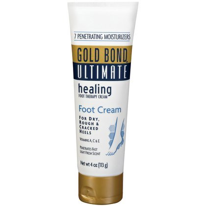 Gold Bond Ultimate Foot Therapy Cream, Healing, 4 oz.