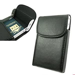 kilofly Business Card Holder - Vertical Flip Top - Kenneth