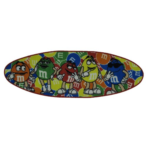 M & M's Surfboard Area Rug