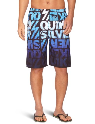 QUIKSILVER (2013) Mens Dipped Board Shorts in Pacific Blue (XL)